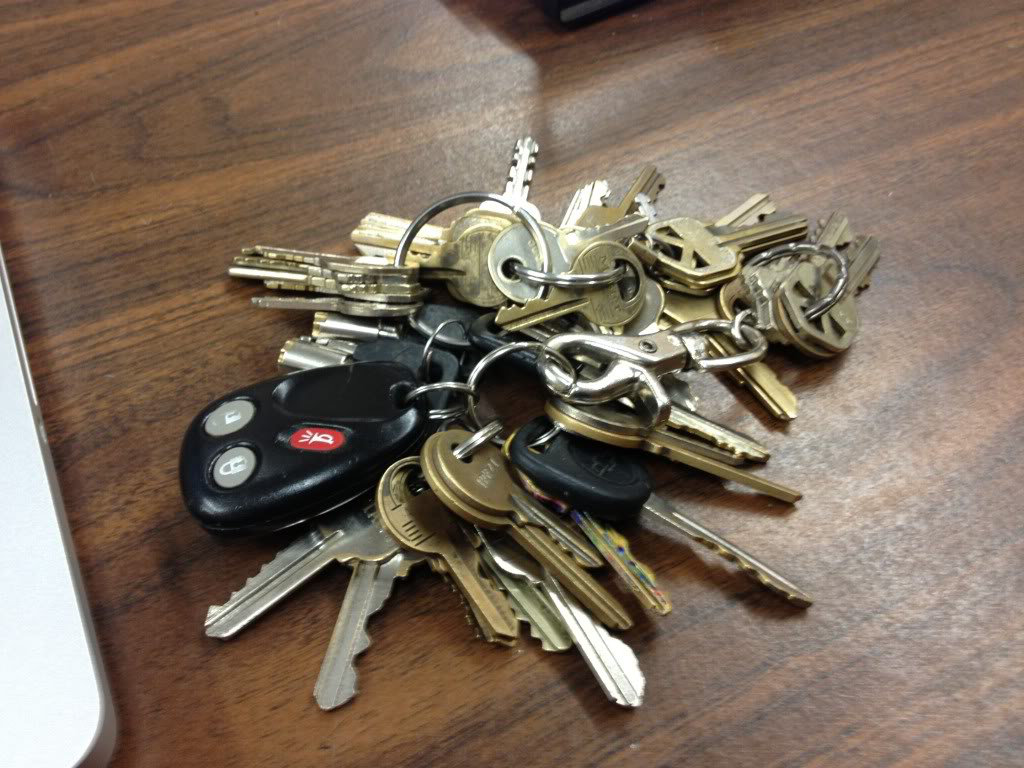 Image result for heavy key ring