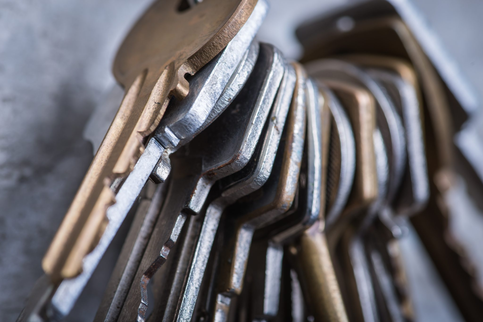 A locksmith is a metal master